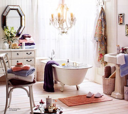 Decoracion Baño Romantico:Ideas para Decorar un Baño Romántico – DecoracionIN