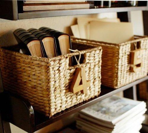 Decora y organiza tu casa con cestas decoracion in for Muebles con cestas