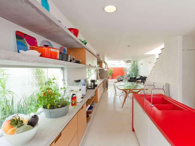 Materiales y revestimientos atractivos para cocinas for Cocinas actuales