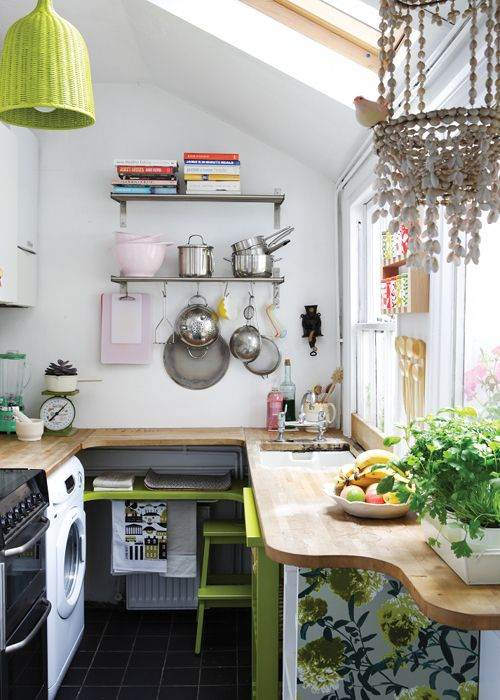 ideas para cocinas pequeas - Decorar Cocinas Pequeas