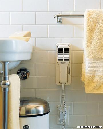 ideas para colgar toallas