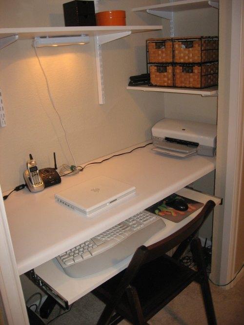 oficina en espacio reducido