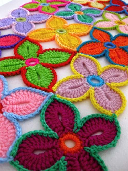 ideas de decoracion en crochet para casas contempor?neas