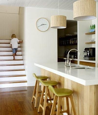 Cocinas con pr cticas islas o barras decoracion in for Islas de cocina con barra