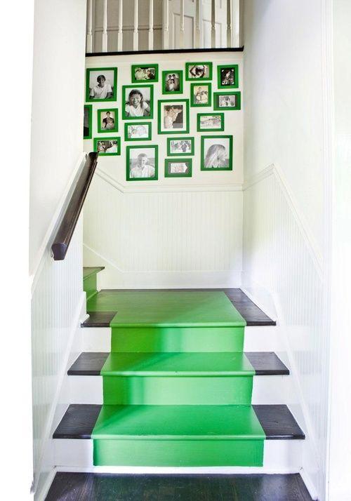 ideas para decorar ambientes con escaleras