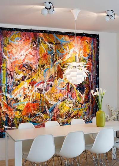 ideas para decorar con arte