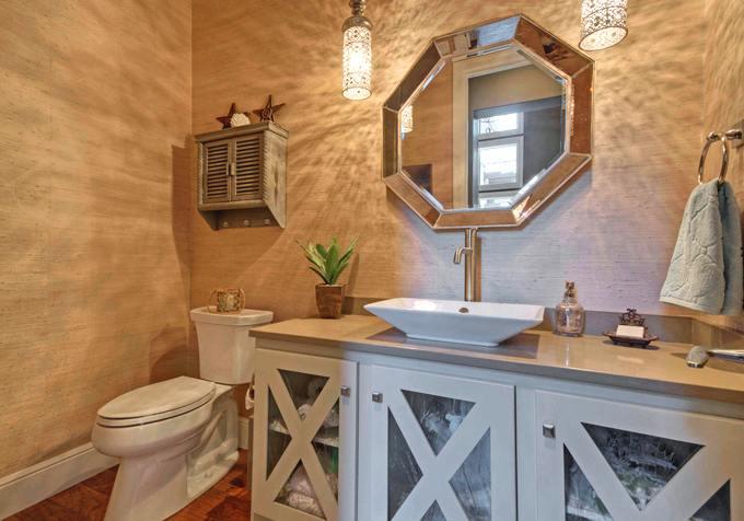 Espejos y detalles para decorar el ba o decoracion in - Decorar espejo bano ...