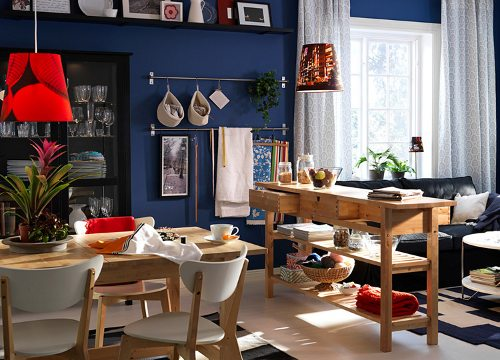 Ideas para decorar el comedor y la cocina cat logo ikea - Cocina comedor ideas ...