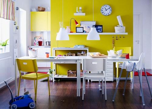 Ideas para decorar el comedor y la cocina cat logo ikea - Comedores pequenos ikea ...