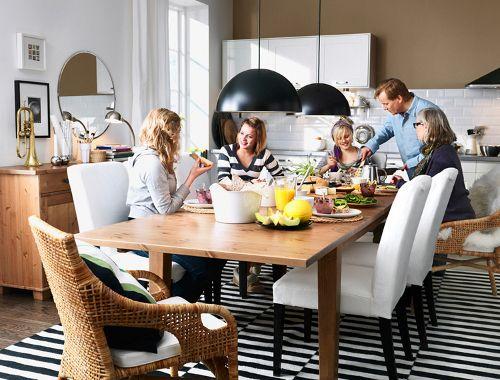 Ideas para Decorar el Comedor y la Cocina - Catálogo Ikea 2010 ...