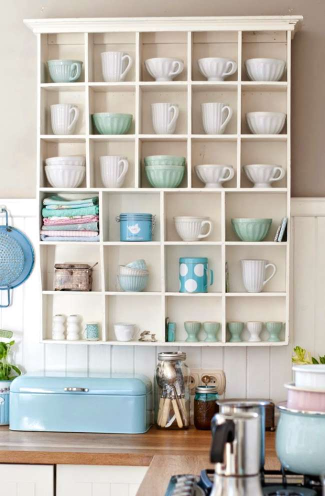 Ideas pr cticas y colores pastel en la cocina decoracion in - Cocinas ideas para decorar ...