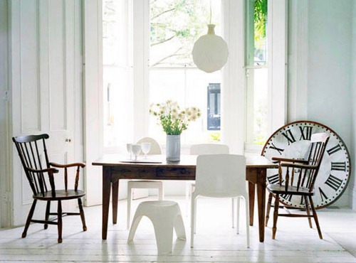 Cuatro ideas para decorar comedores de estilo decoracion in for Decoracion de comedores