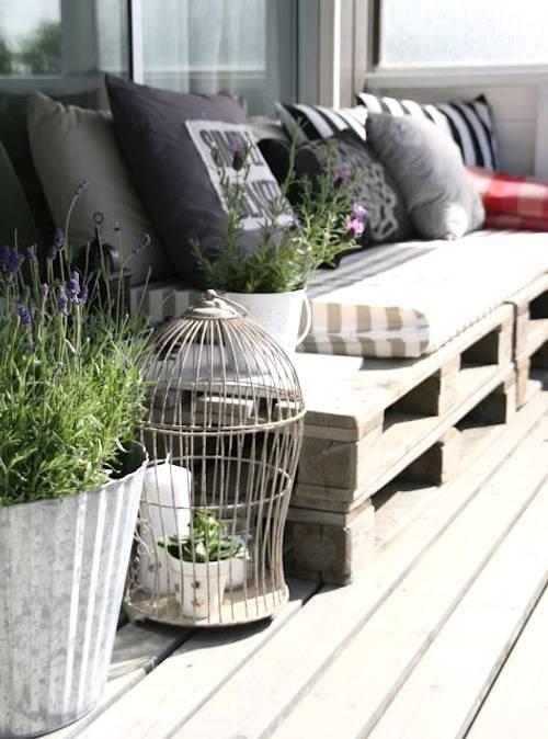 ideas para decorar un exterior en primavera