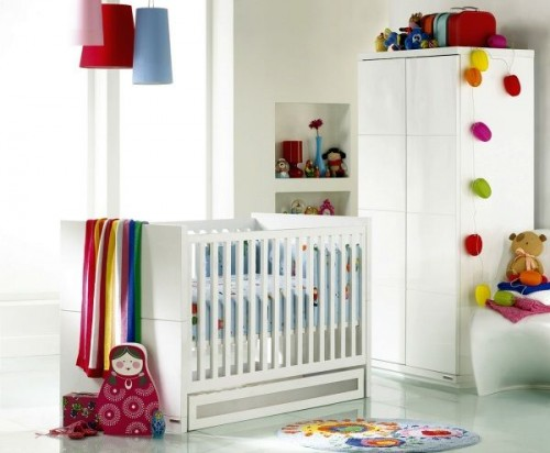 Ideas para decorar la habitaci n del beb decoracion in for Baby cot decoration ideas
