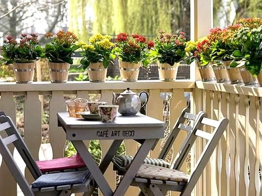 C mo decorar rincones con encanto en exteriores - Ideas para decorar jardines ...