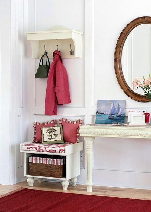 C mo renovar con color el recibidor decoracion in for Sillas para recibidor