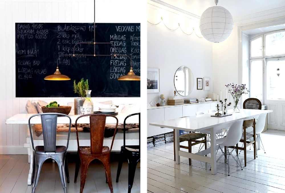 ideas para decorar salones y cocinas