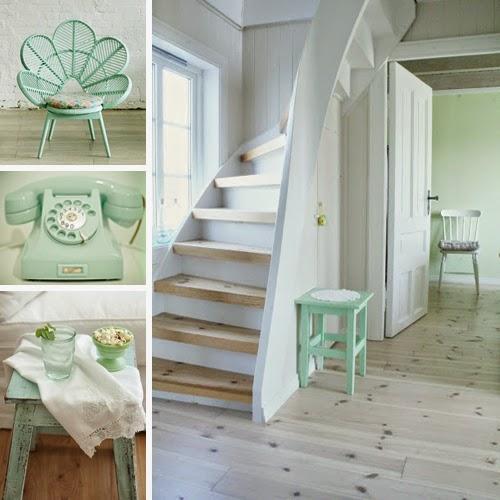 ideas para decorar con verde