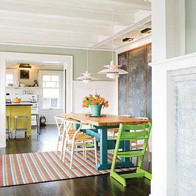 Divertidas ideas para decorar el comedor decoracion in for Ideas para decorar tu living comedor