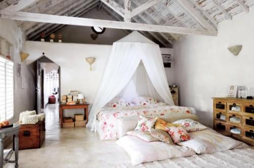 Ideas para decorar dormitorios vintage decoracion in - Dormitorios vintage chic ...
