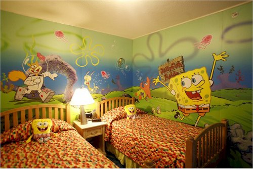 especiales para niños , camas de diseños increíbles, cortinas, etc