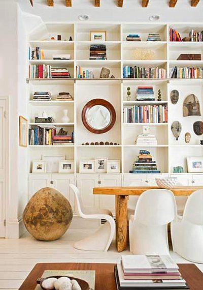 C mo elegir estanter as o librer as para decorar for Decoracion de estanterias