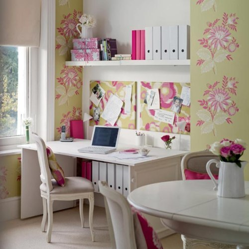 Ideas para espacios peque os oficina en el comedor decoracion in - Decoracion de espacios pequenos ...