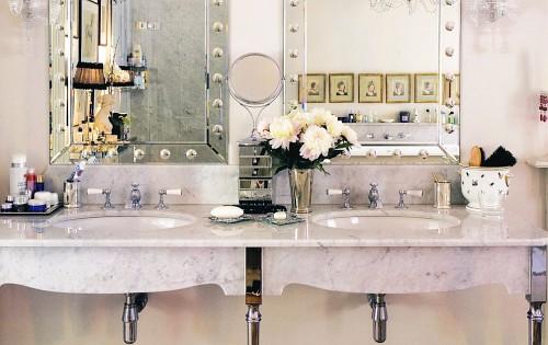 Bonitos espejos para decorar el ba o decoracion in - Decorar espejo bano ...