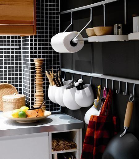 ideas para ganar espacio en cocinas