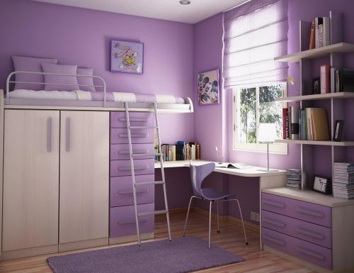 Ideas Habitaciones compartidas por jóvenes y niños - Decoracion.IN