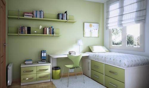 Colores para habitaciones de jóvenes