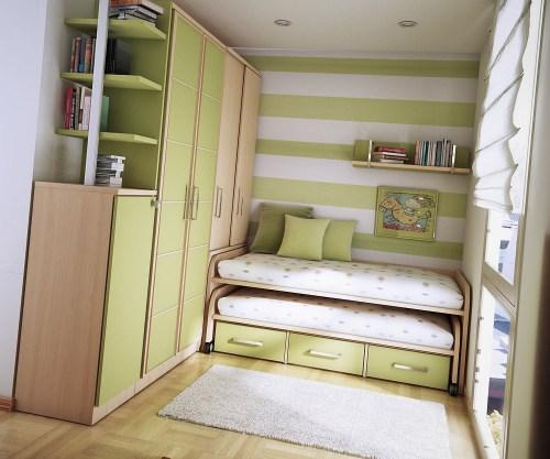 Ideas habitaciones compartidas por j venes y ni os for Dormitorios pequenos para adultos