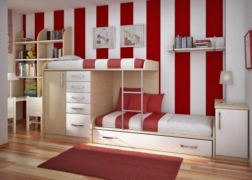 decoracin de dormitorios compartidos