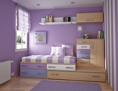 Ideas habitaciones compartidas por j venes y ni os for Recamaras para ninos espacios pequenos