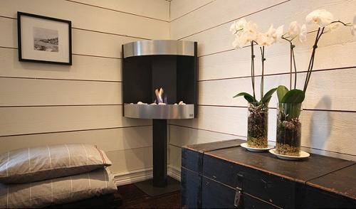 Ideas para interiores modelos de chimeneas decoracion in - Chimeneas interiores ...