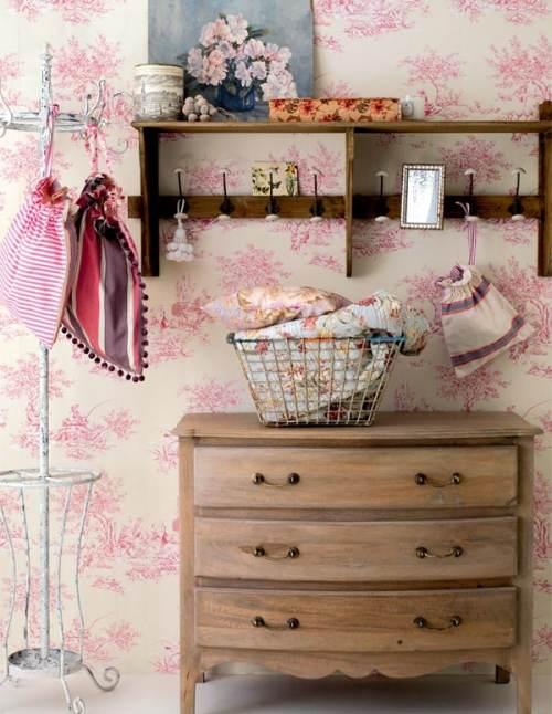 Decoracion Baño Romantico:Muebles y Accesorios Decorativos para Decorar un Recibidor Romántico