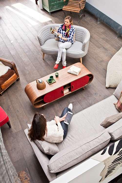 ideas de muebles con espacio de almacén