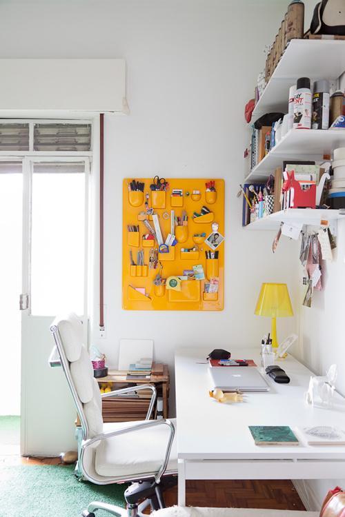 Un escritorio organizado bonito y pr ctico decoracion in for Ideas decoracion escritorio