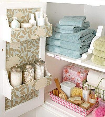 Pr cticas y lindas ideas de almacenamiento para el ba o - Detalles para el bano ...