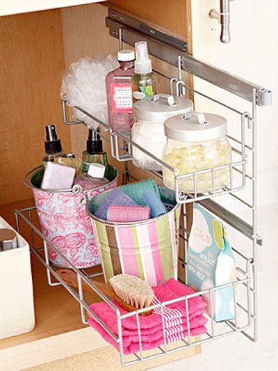 pr cticas y lindas ideas de almacenamiento para el ba o On accesorios de almacenamiento de bano