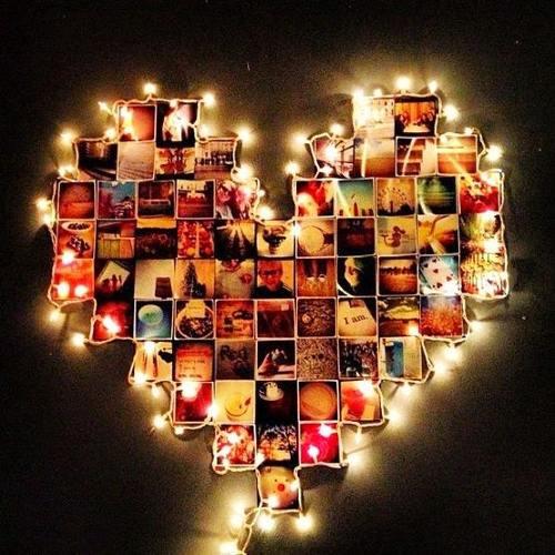 ideas románticas para decorar paredes
