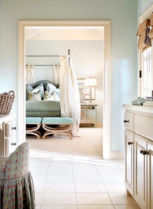 ideas de telas y colores para la cama