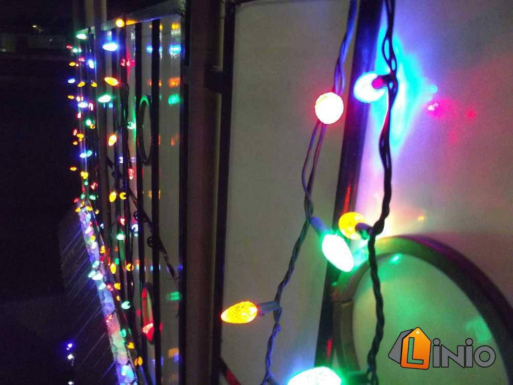 iluminación para Navidad