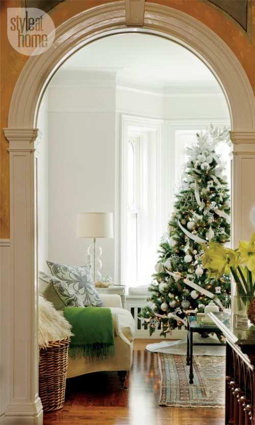 iluminar el árbol de navidad