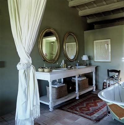 interiores con aire vintage