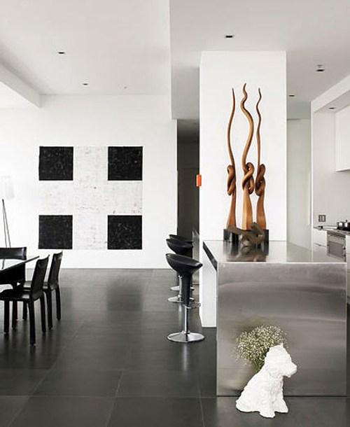 Islas de cocina en ambientes minimalistas decoracion in for Ambientes minimalistas interiores