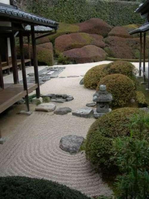 jardines con aire oriental decoracion in
