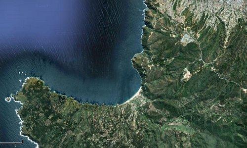 Ubicación de Laguna Verde, Valparaiso, Chile