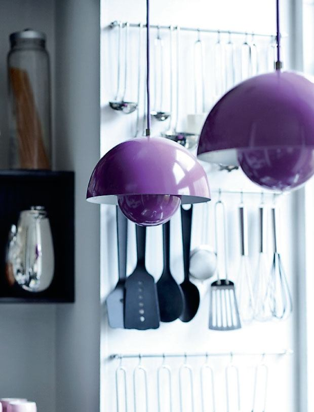 lámpara Flowerpot Verner Panton