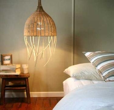 lámparas de estilo rústico